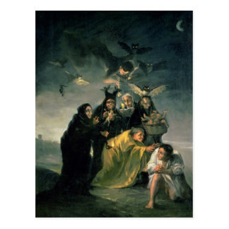 Carte Postale Le sabbat des sorcières