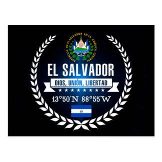 Carte Postale Le Salvador