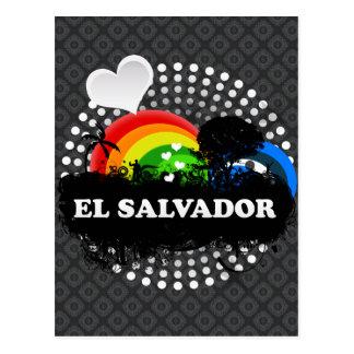 Carte Postale Le Salvador fruité mignon
