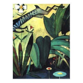Carte Postale Le saut du lapin par Amadeo de Souza-Cardoso