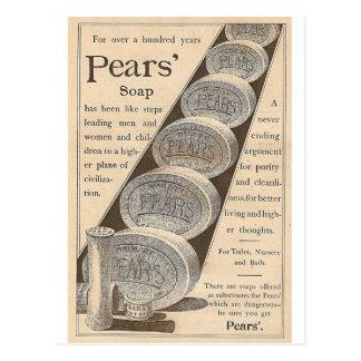 Carte Postale Le savon des poires