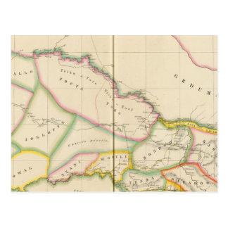 Carte Postale Le Sénégal Afrique