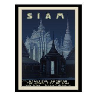 Carte Postale Le Siam beau Bangkok