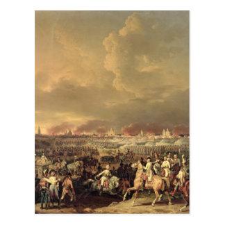 Carte Postale Le siège de Lille par Albert de Saxe-Tachen