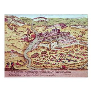Carte Postale Le siège de St Quentin, le 27 juillet 1557