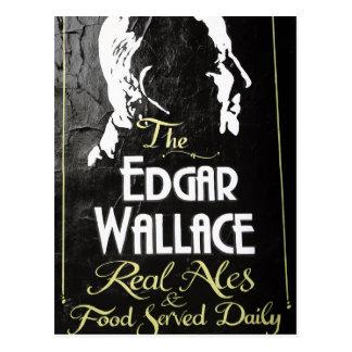 Carte Postale Le signe Londres d'auberge d'Edgar Wallace