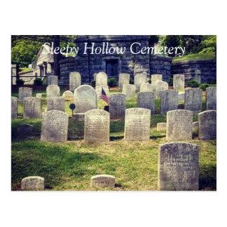 Carte Postale Le site grave de Washington Irving