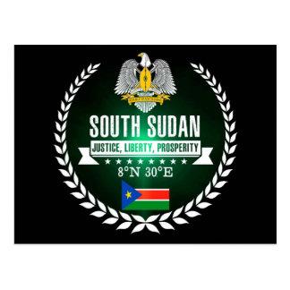 Carte Postale Le Soudan du sud