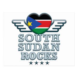 Carte Postale Le Soudan du sud bascule v2