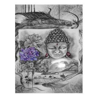 Carte Postale Le souhait de Bouddha