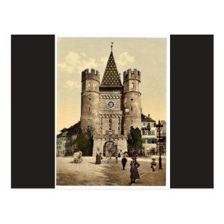 Carte Postale Le Spalenthor, classique Photoch de Bâle, Suisse