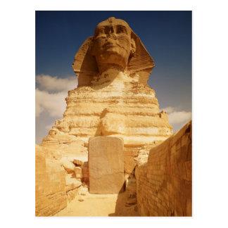 Carte Postale Le sphinx, datant du règne du roi