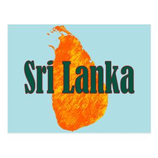 Carte Postale Le Sri Lanka