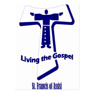 Carte Postale Le St Francis d'Assisi