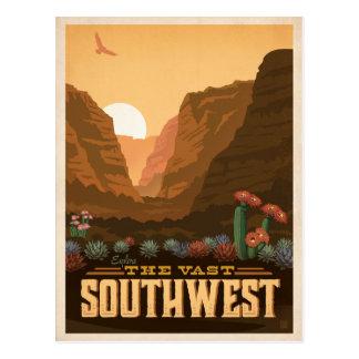 Carte Postale Le sud-ouest | Etats-Unis