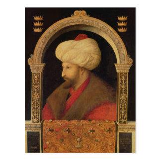 Carte Postale Le sultan Mehmet II 1480