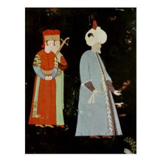 Carte Postale Le sultan Suleyman le magnifique