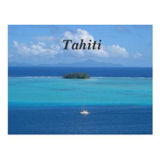 Carte Postale Le Tahiti
