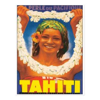 Carte Postale Le Tahiti vintage