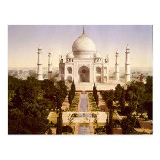 Carte Postale Le Taj Mahal à Âgrâ Inde