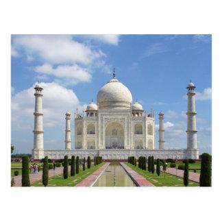 Carte Postale Le Taj Mahal à Âgrâ Inde 7 merveilles du monde