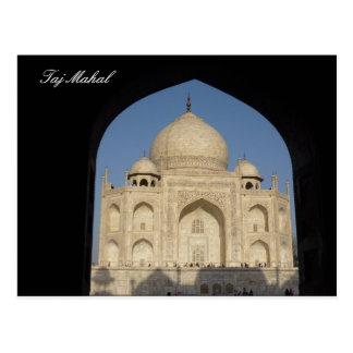 Carte Postale le Taj Mahal a arqué