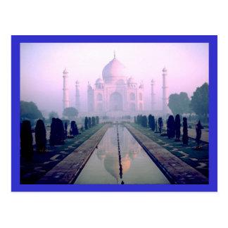 Carte Postale Le Taj Mahal Âgrâ Inde