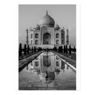 Carte Postale Le Taj Mahal BW