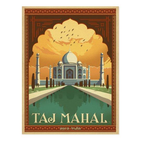 Carte Postale Inde.Carte Postale Le Taj Mahal Inde