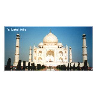 Carte postale le Taj Mahal Inde Photocarte Customisée