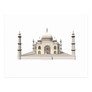 Carte Postale Le Taj Mahal : modèle 3D :
