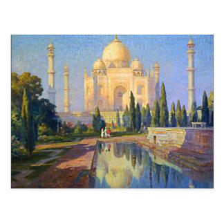 Carte Postale Le Taj Mahal par le tonnelier