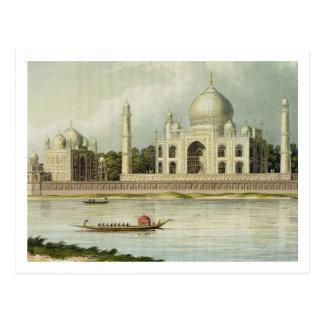 Carte Postale Le Taj Mahal, tombe de l'empereur Shah Jehan et