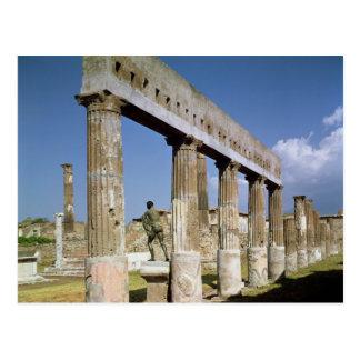 Carte Postale Le temple d'Apollo