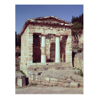 Carte Postale Le temple des trésors des Athéniens