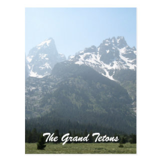 Carte Postale Le Tetons grand