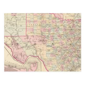 Carte Postale Le Texas