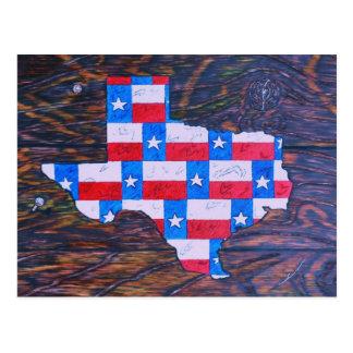 Carte Postale Le Texas est grand