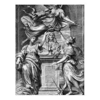 Carte Postale 'Le Theatre de P. Corneille