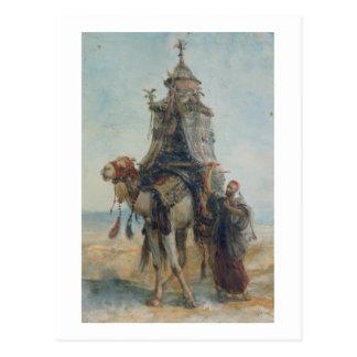 Carte Postale Le tour de désert, 1839 (la semaine sur le papier)