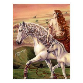 Carte Postale Le tour de Rhiannon