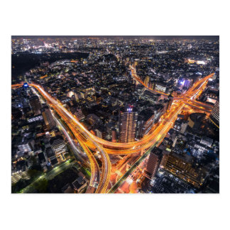 Carte Postale Le trafic de Tokyo