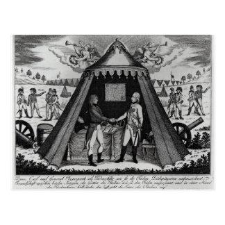 Carte Postale Le Traité de Campo Formio, le 18 octobre 1797