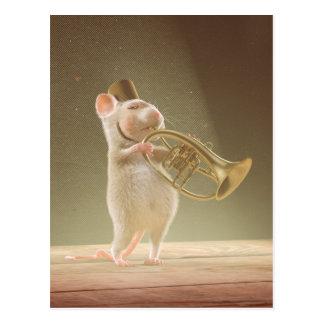 "Carte postale : ""Le trompettiste """