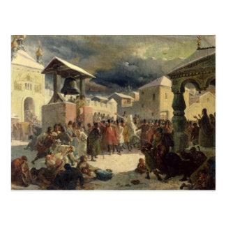 Carte Postale Le Veche dans la République de Novgorod, 1861