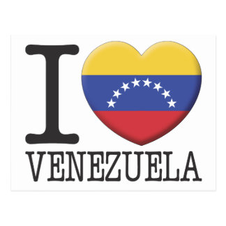 Carte Postale Le Venezuela