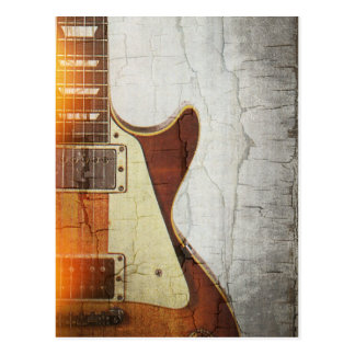 Carte Postale Le Vibe 1 de guitare - choisissez la coupe 59