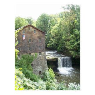 Carte Postale Le vieux moulin aux automnes de Lanterman