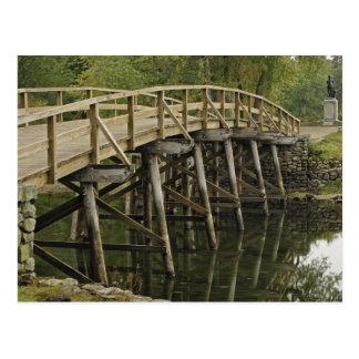 Carte Postale Le vieux pont du nord, ressortissant minuscule