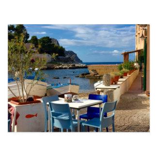 Carte Postale Le village de pêche sicilien